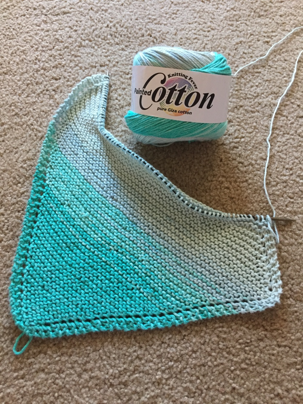 New Yarn: Knitting Fever Painted Cotton – The Yarnologue Blog